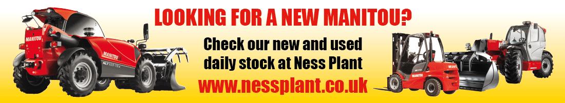 Visit Ness Plant for your next Manitou